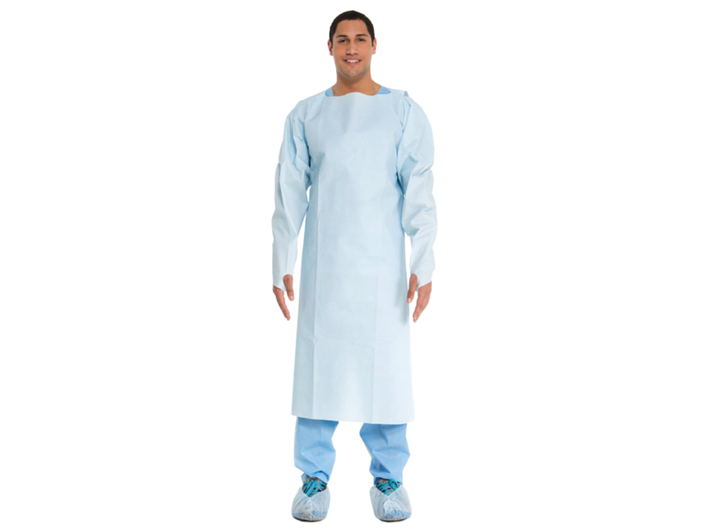 Blue Impervious Comfort Gown