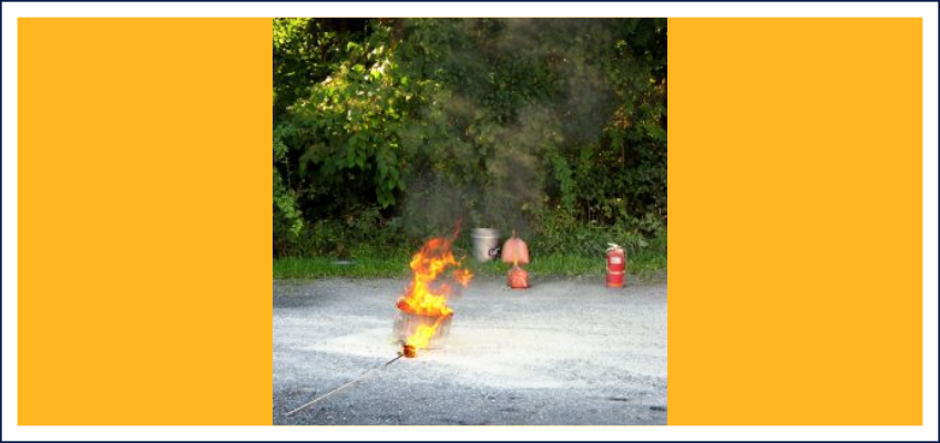 4th Year of On-Hand Fire Extinguisher Training